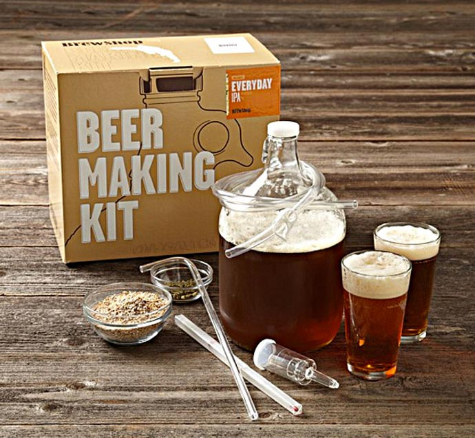 BEER MAKING KIT BROOKLYN BREW SHOP 1