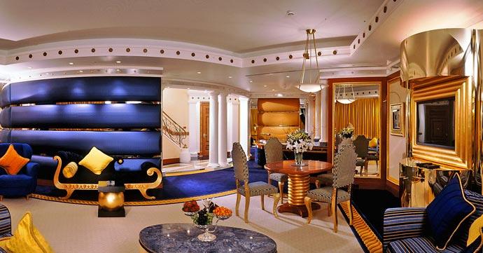 Burj al arab luxury hotel in dubai for Modern hotel dubai