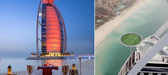 BURJ AL ARAB | LUXURY HOTEL IN DUBAI