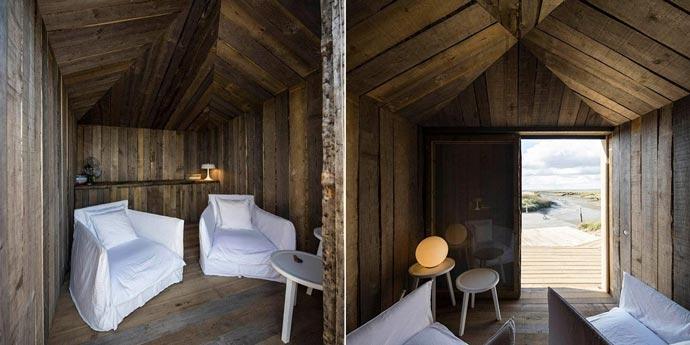 Interior design at CABANAS NO RIO