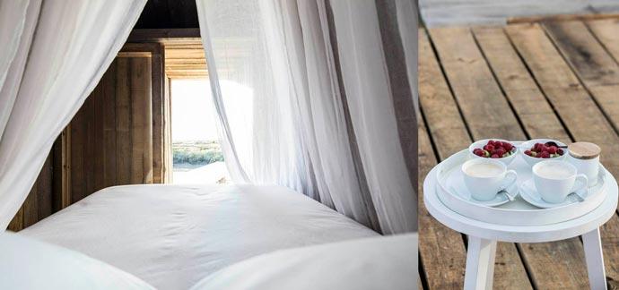 Bed and breakfast at CABANAS NO RIO