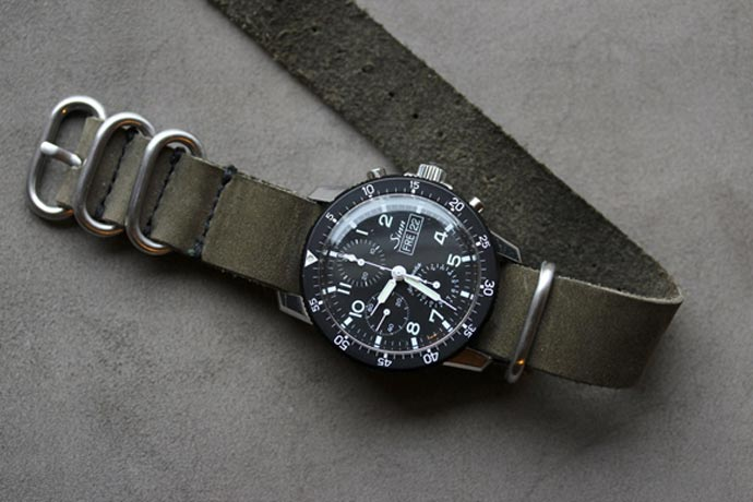 Horween Leather NYC NATO Watch Strap 6