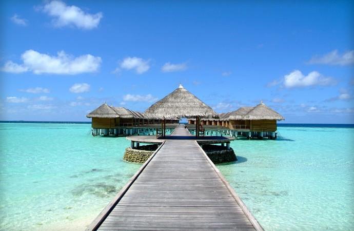 Maafushivaru Island Resort in the Maldives