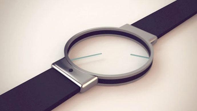Minimalist analog watch for Minimal art wrist watch