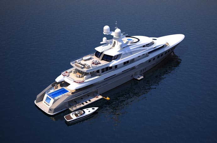Red Square Superyacht by Dunya Yachts 8