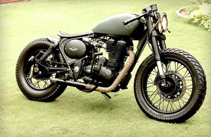Royal Enfield 500cc Classic   BY Rajputana Custom Motorcycles 3