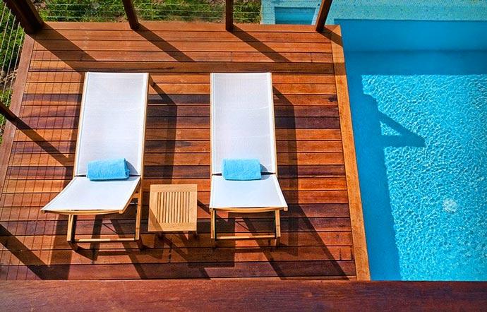 Swimming pool at Secret Bay Resort