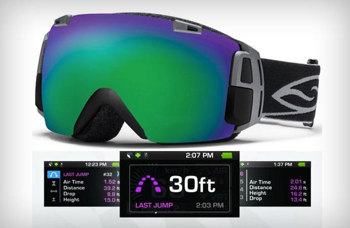Snow Goggles with MOD Live technology and GPS