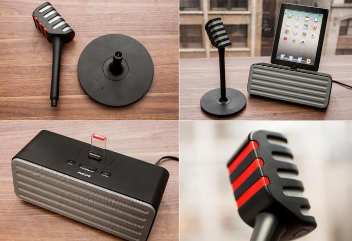 Starmaker Bluetooth Karaoke System & Speaker by Philips 3