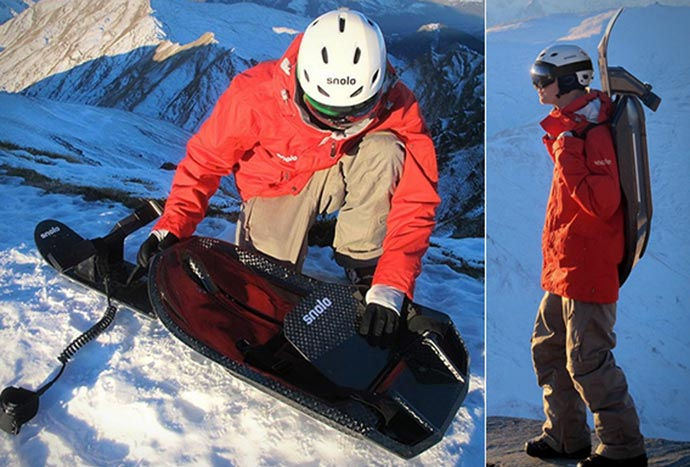Stealth-X Sled by Snolo Sleds 11