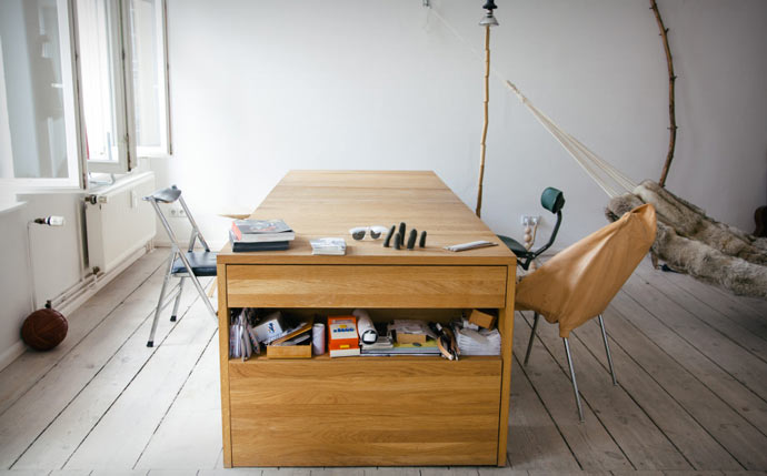Workbed - Desk that transforms into a bed
