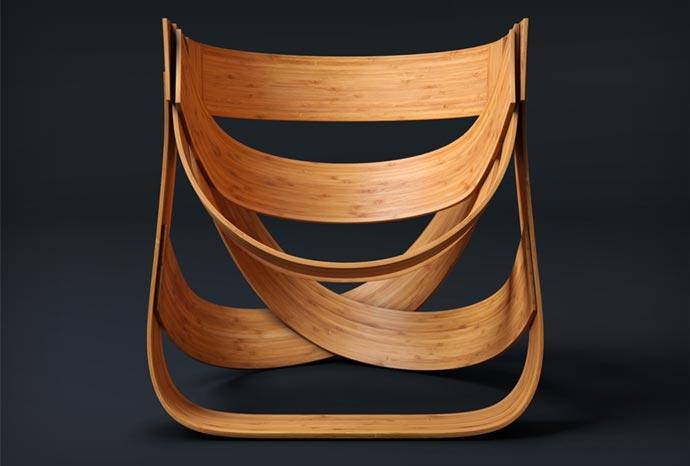 Woven Bamboo Chair 4