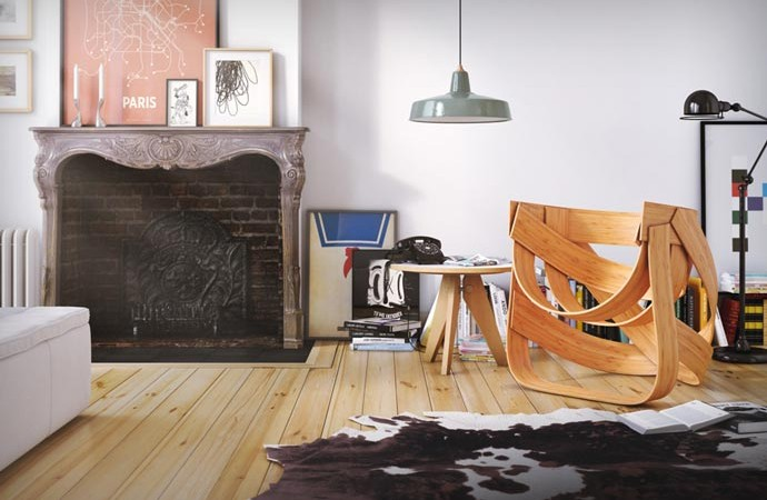 Woven Bamboo Chair 6