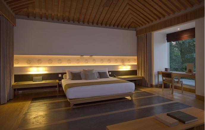 Room at amanoi resort in Vietnam