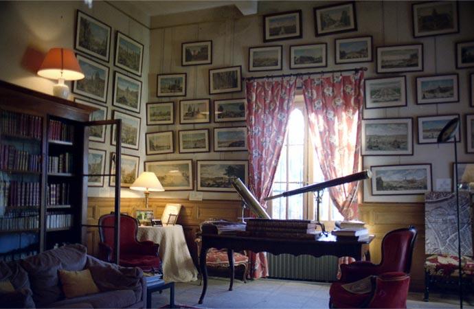 Room at Chateau De Flaugergues