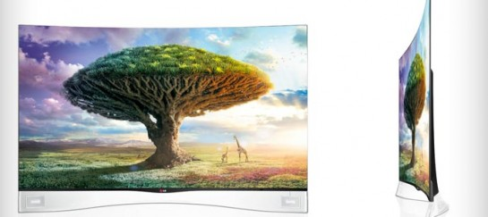 CURVED OLED TV | BY LG