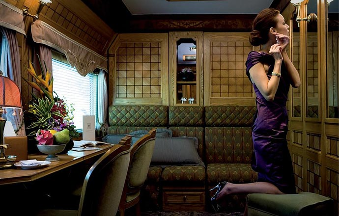 Room in the Eastern and Oriental Express