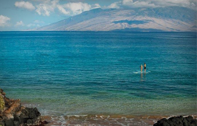 Sea activities at Four Seasons Maui