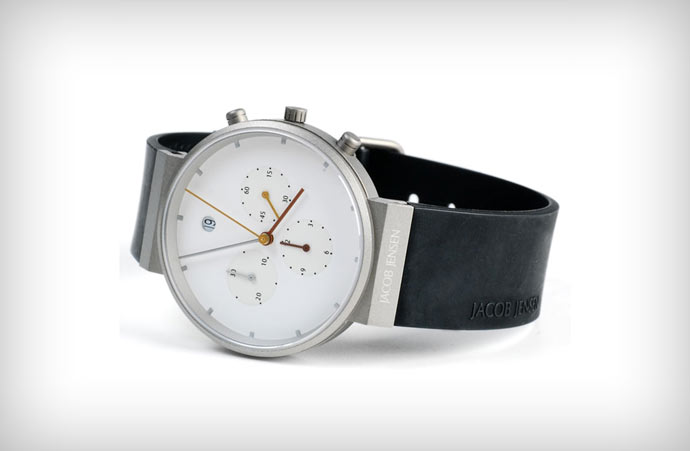 Jacob Jense Chronograph