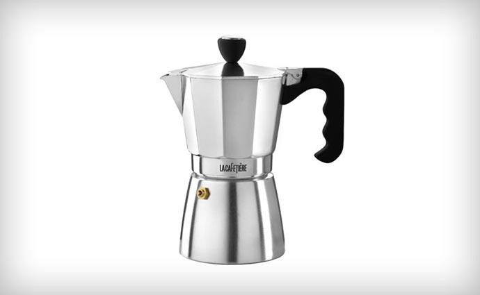Silver La Cafetiere Classic Stovetop Espresso