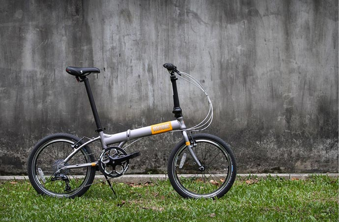 Mobic X9 Folding Bike