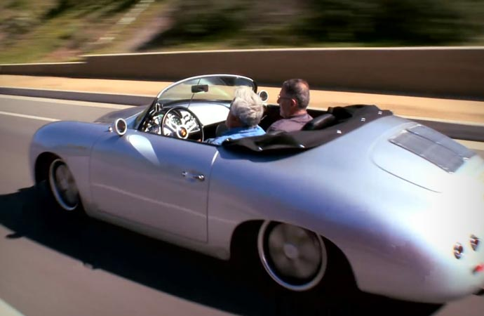 Porsche 356 Outlaw on the road