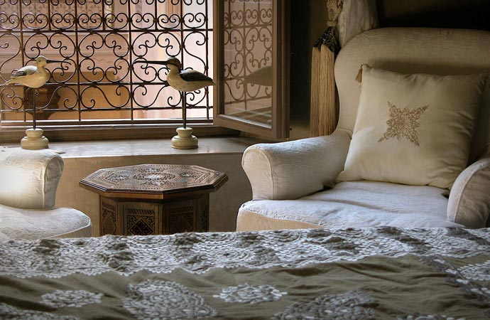 Room at Riad Noir D'Ivoire