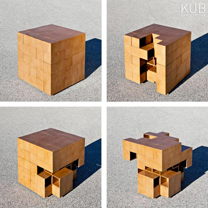 The Puzzle Table by A2Office
