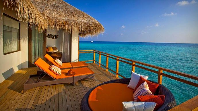 Velassaru Maldives patio