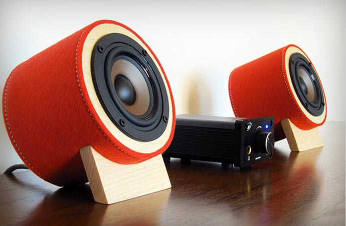 Red Yorkie SE Speakers