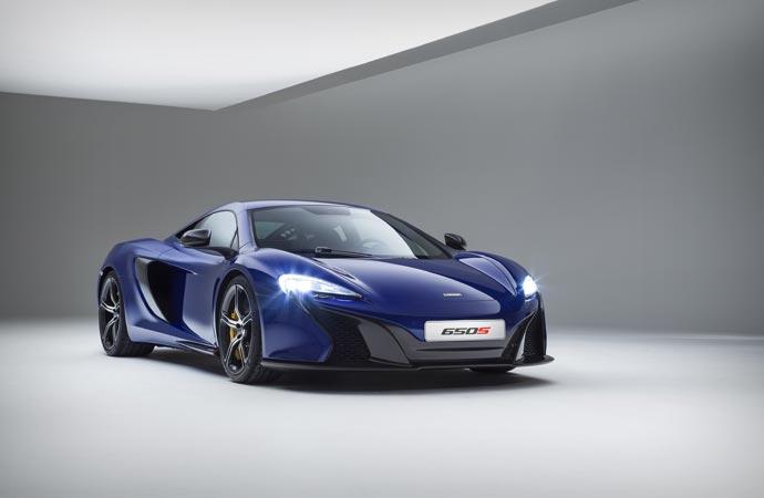 2015 McLaren 650S body