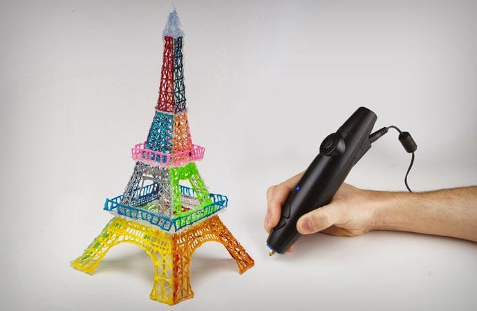 3D Doodler Eiffel Tower