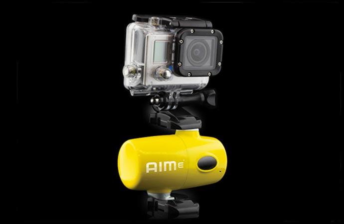 Auto-tracking camera mount