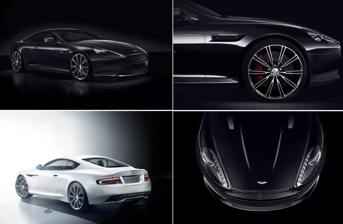 Aston Martin DB9 carbon black and white editions
