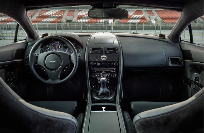 Aston Martin N430 inside