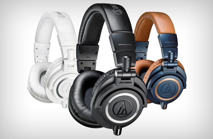 Audio-Technica professional headphones