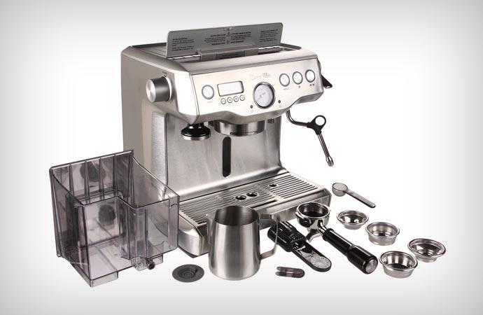 breville manual coffee machine