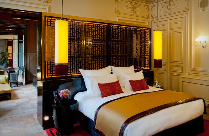 Room at Buddha Bar Hotel Paris