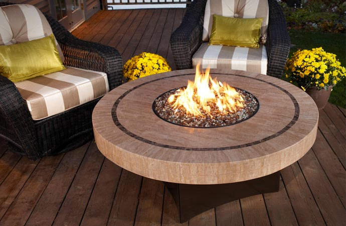 Fire table from Oriflamme