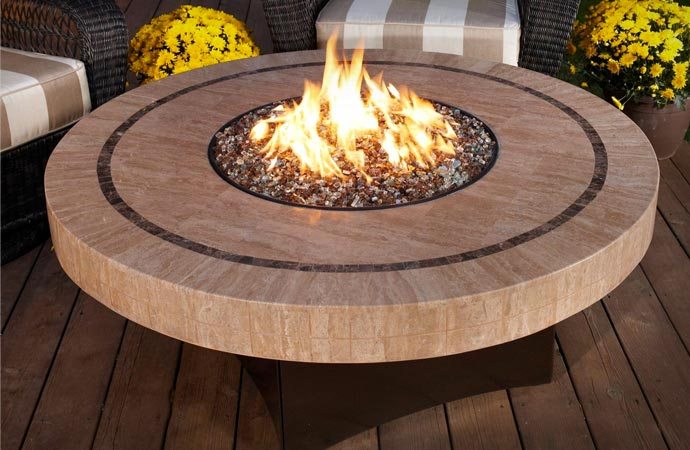 Oriflamme fire table