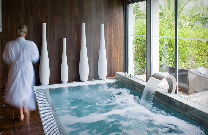 Spa at Hotel Sezz in Saint Tropez