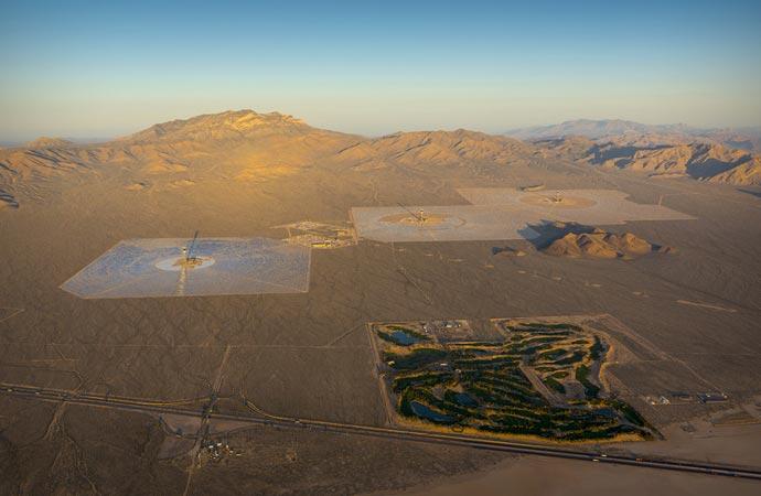 Ivanpah Solar Power Plant in California