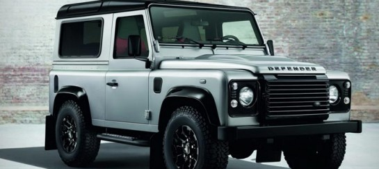LAND ROVER DEFENDER | BLACK AND SILVER PACK