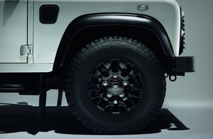 Land Rover Defender Silver Pack Wheel