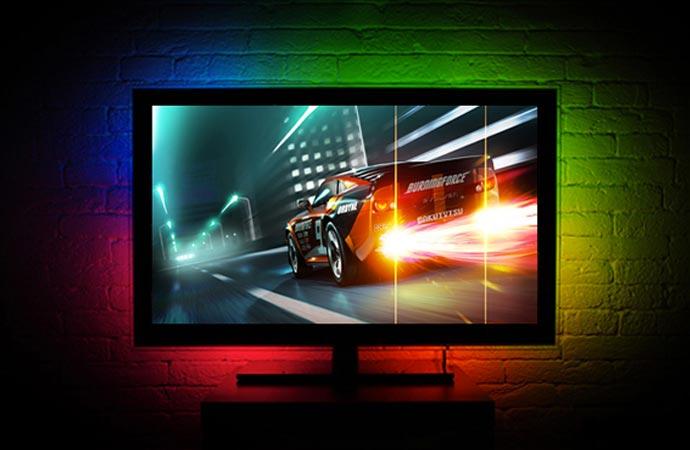 TV display backlight