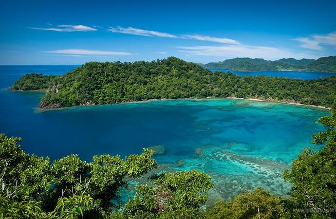 Matangi private island resort in Fiji