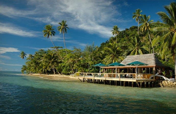 Matangi resort in Fiji