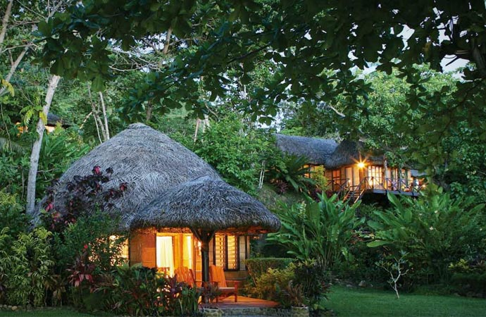 Bures at Matangi resort