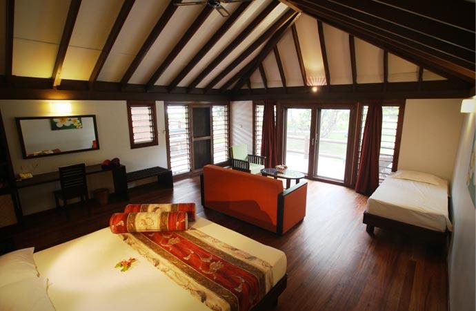 Room at Matangi resort in Fiji
