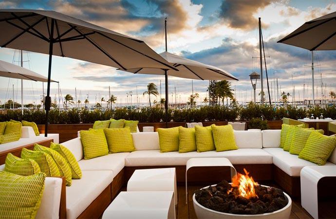 Modern Honolulu resort